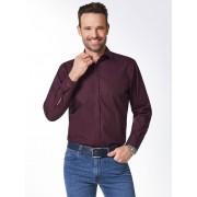 Walbusch Extraglatt-Hemd Reißverschluss Rosa 39