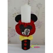 Lumânare Botez Glam Mickey Mouse