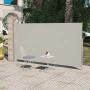 vidaXL Странична тента за тераса 160 x 300 см, цвят крем
