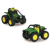 John Deere Monster Treads Lights and Sounds Ground Force Vehicle Vehicle May Vary
