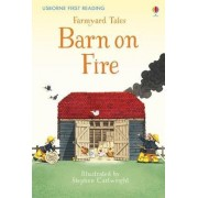 Farmyard Tales Barn on Fire by Stephen Cartwright