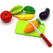 Little Treasures Delicious Playfully Fresh Fruit and Vegies Play Set for Kids
