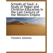 Schools of Gaul; A Study of Pagan and Christian Education in the Last Century of the Western Empire by Theodore Johannes