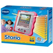 Hasbro - VTech Storio Console Rosa + Cartuccia, italiano