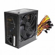 Other Silence 500 W ATX PC Power Supply PSU with 12 cm Silent Fan and SATA/24 broches/4 broches molex, [Import anglais]