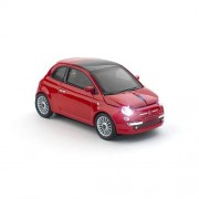Myš CLICK CAR MOUSE Fiat 500 new red (2,4GHz Wireless)