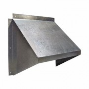 Canarm Fan Hood - 20 Inch, Galvanized Metal, Model GH-XF20