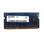 2Go RAM PC Portable SODIMM Elpida EBJ21UE8BBS0-AE-F PC3-8500S 1066MHz DDR3