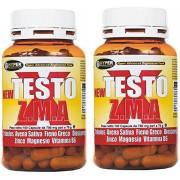New Testo X ZMA 2 paquetes de 70 g - 100 tabletas estimulante natural de testosterona, ayuda a aumentar la masa corporal magra y reducir la grasa corporal nuevo texto X ZMA se basa una nueva fórmula en - Tribulus terrestris (protodioscina titulado) - Aven