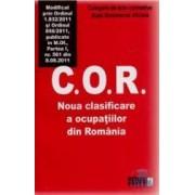 Cor. Noua Clasificare A Ocupatiilor Din Romania Act. 8.08.2011
