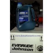 OLIO XD50 EVINRUDE E-TEC 3 x 1 gallone