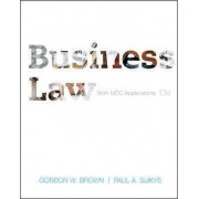 Business Law with Ucc Applications by Gordon Brown