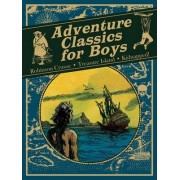 Adventure Classics for Boys by Daniel Defoe
