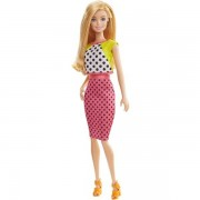 Mattel Barbie Fashionistas Doll 13 Dolled Up In Dots