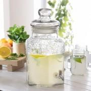 Florina Słój na napoje z kranikiem szklany FLORINA HONEY 5 l - rabat 10 zł na pierwsze zakupy!