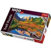 Trefl - 10353 - Puzzle - Marron Sée - Aspen - 1000 Pièces