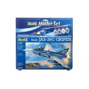 Revell - 64999 - Maquette D'aviation - Saab Jas 39c Gripen - 110 Pièces - Echelle 1/72