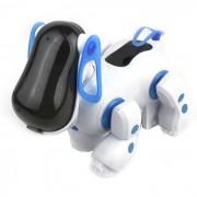 Perro divertido del perro del robot mecanico w / luminosos ojos? Suport Walk