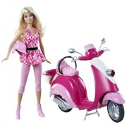 Mattel X5448 - Barbie Glam Scooter