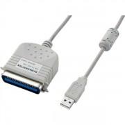Cablu PC; USB 2.0 M la CENTRONICS (36 pini) M; 1.8m