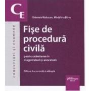 Fise de procedura civila - Gabriela Raducan Madalina Dinu