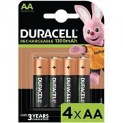 Duracell AA 1300mAh Rechargeable Pack de 4 (HR6-B)
