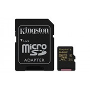 Kingston 64GB MicroSDXC Memory Card CLASS10 UHS-I 90R/45W (SDCA10/64GB)
