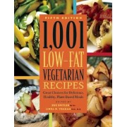 1,001 Low-Fat Vegetarian Recipes by Sue Spitler