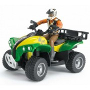Quad mit Fahrer (Kleidungsfarben gemischt sortiert) bworld 63000