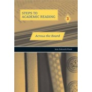 Steps to Academic Reading 3 by Jean Zukowski-Faust