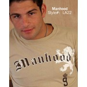 Ajaxx63 T Shirt Manhood AS22