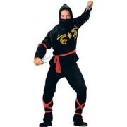 Ninja - Disfraz de ninja para hombre, talla 48 - 50 (R55026)