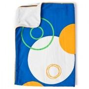 CoZibug Baby Planet Stroller Blanket Blue