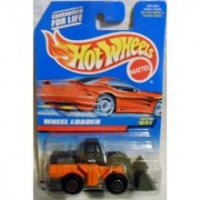 Mattel Hot Wheels 1998 1:64 Scale Orange Wheel Loader Die Cast Car Collector #641