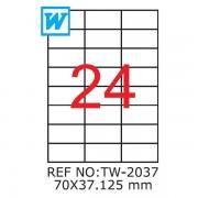 Etichete A4 , 70 x 37,125mm , TW 2037
