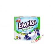 Тоалетна хартия Emeka Mountain Fresh, 3 пластова, 8бр
