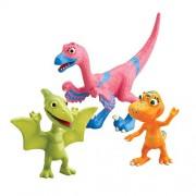 Dinosaur Train di Jim Henson confezione da tre figure - Annie, Don e Velma (111113115). Importato dal Regno Unito.