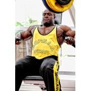 Gorilla Wear Stringer Tank Top Yellow - L