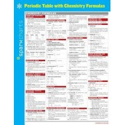 Periodic Table with Chemistry Formulas SparkCharts by Sparknotes