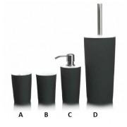 Sealskin Two Tone szklanka na szczoteczki black 361790319