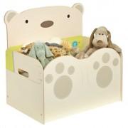 Worlds Apart Toy Box Bear Hug 60x40x57 cm Beige WORL230012