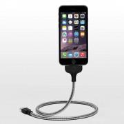 Fuse Chicken Bobine - стоманен Lightning кабел и док станция за iPhone, iPad, iPod с Lightning