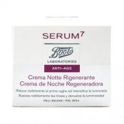 Serum7 Crema de Noche Regeneradora Piel Seca