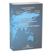 Managementul proiectelor publice cu finanţare internaţională.