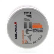 Goldwell Style Sign Texture Mellogoo Gél na vlasy pro ženy Modelovací pasta pro přirozený efekt