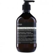 Aésop Hair Rose máscara hidratante para cabelo e couro cabeludo 500 ml