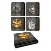 Outlander Tartan Coaster Set