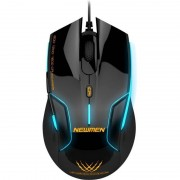 Mouse gaming Newmen N500 black