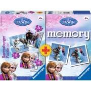 Memory Ravensburger Frozen 25+36+49 + Memory de Disney