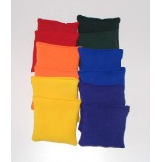 """Square 4"""" Bean Bags, Assorted Colors"""
